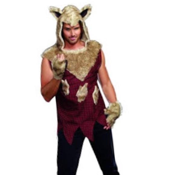 Other Mens Big Bad Wolf Costume Poshmark